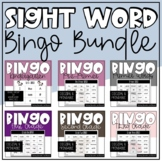 Sight Word Bingo Bundle for Differentiated Instruction and