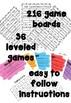Sight Word Bingo Bundle - Oxford Wordlist Plus