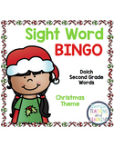 Sight Word Bingo {Dolch Second Grade} Christmas Theme