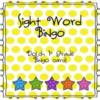 Sight Word Bingo (Dolch 1st Grade)