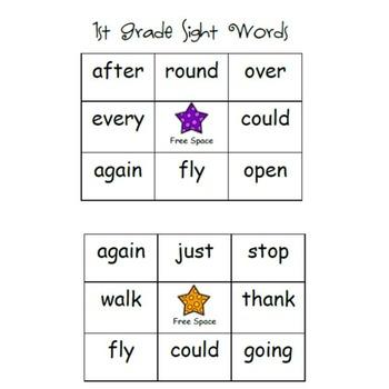 Sight Word Bingo (Dolch Bundle)