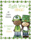 Sight Word Bingo {Dolch Bundle} St. Patrick's Day Theme