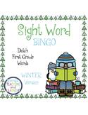 Sight Word Bingo {Dolch First Grade} Winter Theme