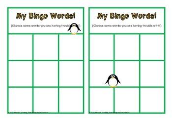 Sight Word Bingo First Class Set