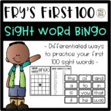 Sight Word Bingo - Fry's First 100