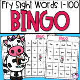 Fry's First 100 Words Bingo