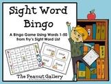 Sight Word Bingo (Fry's Sight Words 1-50)