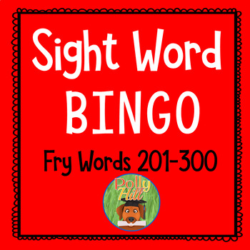 Sight Word Bingo:  Fry's Word List Set 3