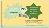 Sight Word Bingo Game for Grade 3 Students