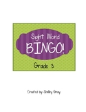 Sight Word Bingo: Grade 3