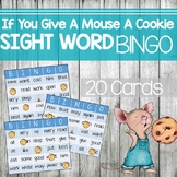 Sight Word Bingo: If You Give a Mouse a Cookie #ChristmasInJuly