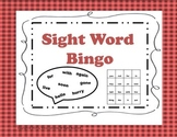 Sight Words  Bingo Game K-2 {Common Core Aligned}