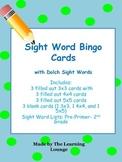 Sight Word Bingo K-2 Set