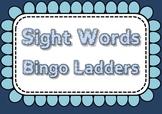 Sight Word Bingo Ladders - 220 sight words, 18 games