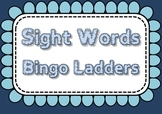 Sight Word Bingo Ladders - 220 sight words, 18 games
