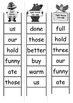 Sight Word Bingo Ladders - words 169-180