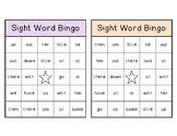 Sight Word Bingo List 2