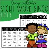 Sight Word Bingo - Lucy Calkins High Frequency List B