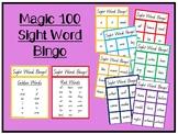 Sight Word Bingo- Magic 100