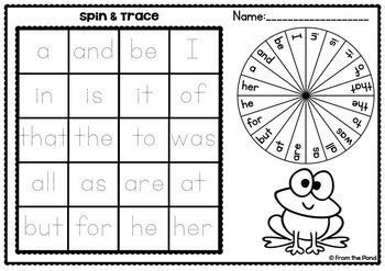 Sight Word Bingo Mega Pack {Games for Literacy Centers}