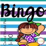 Sight Word Bingo - Oxford Wordlist Plus - 1-100