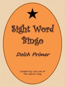 Sight Word Bingo- Primer