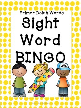 Sight Word Bingo: Level 2