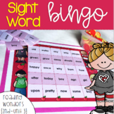 Sight Word Bingo for 2nd grade {Unit 3}