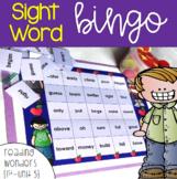 Sight Word Bingo for 1st grade {Unit 5}