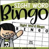 Sight Word Bingo (Second Grade)