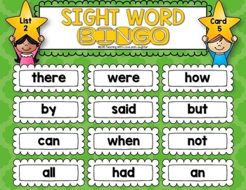 Sight Word Bingo {The First Hundred Words}