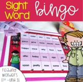 Sight Word Bingo for 1st grade {Unit 3}