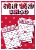 Sight Word Bingo- Valentine