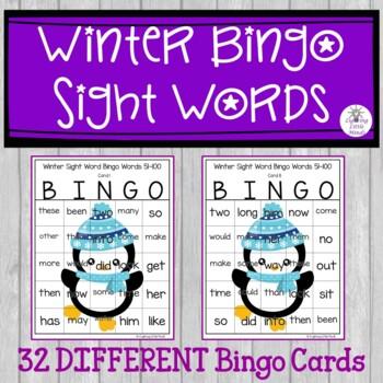 Sight Word Bingo Words 1-60