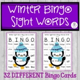 Sight Word Bingo Words 1-60