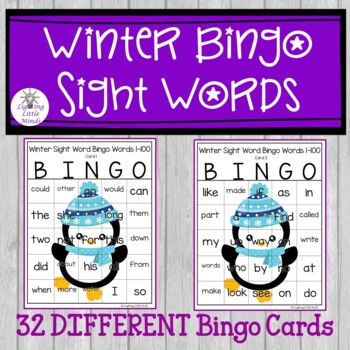 Sight Word Bingo Words 1-80