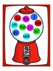 Sight Word Bingo on Gumball Machines
