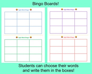 Sight Word Bingo with a Comprehension Twist! (Editable!)