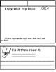 Sight Word Blank template (editable)