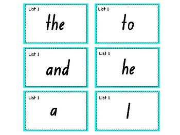 Sight Word Board Game 12O Dolche Sight Words