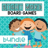 Sight Word Board Game Bundle