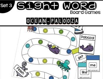 Sight Word Board Game Bundle