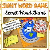 Sight Word Board Game with Deductive Reasoning (Secret Word Game)