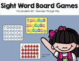 Sight Word Board Games: The Complete Set!