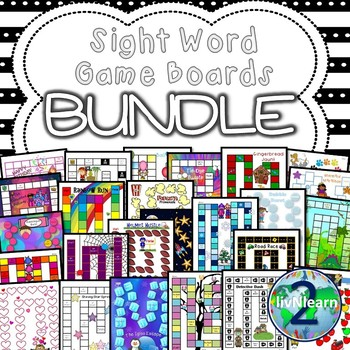 Sight Word Board Games Bundle
