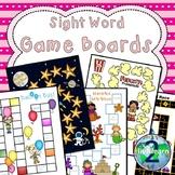 Sight Word Board Games (SET 1)
