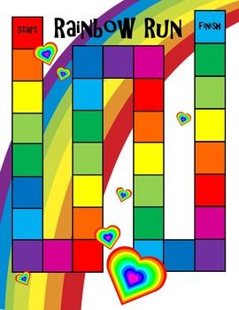 Sight Word Board Games (SET 5)