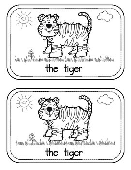 """Sight Word Book for the sight word """"the""""; Sight Word Book #2"""