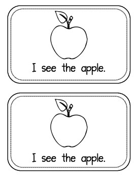 """Sight Word Book for the Sight Word """"see""""; Sight Word Book #3"""