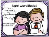 Sight Word Book: 50 Word List